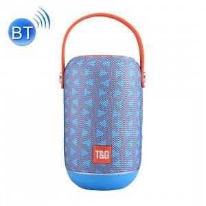T & G TG107 Haut-parleur stéréo sans fil Bluetooth V4.2 portable avec poignée, MIC intégré, prise en charge des appels mains libres et carte TF & AUX IN & FM, Bluetooth Distance: 10 m SH01TT958-20