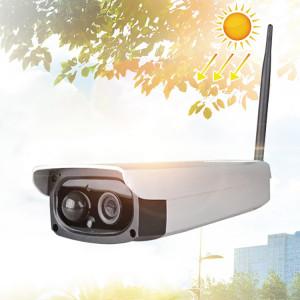 VESAFE VS-Y3 Caméra IP de sécurité solaire HD 1080P d'extérieur, détection de mouvement de support et réveil par IRP, étanche IP66 (blanc) SH094W1732-20