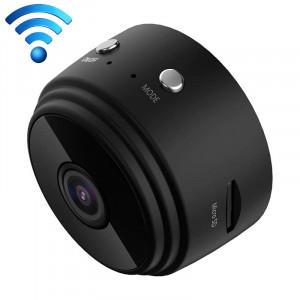 Caméra d'action A9 1080P WiFi IP mini DV, prise en charge de la détection de mouvement et de la vision nocturne infrarouge (noir) SH365B1813-20