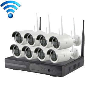 K9608W-PE2013W 8CH HD 960P 1,3 Mega Pixel 2,4 GHz WiFi IP Camera Kit + Kit NVR SH569186-20