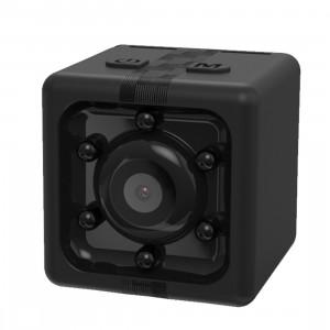 JAKCOM CC2 1080P Enregistreur HD Mini Cube Smart Camera, avec vision nocturne infrarouge et détection de mouvement (noir) SJ017B767-20