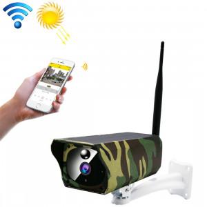 Caméra IP solaire WiFi sur batterie VESAFE VS-Y4 1080P HD, avec détection de mouvement PIR et vision nocturne infrarouge et carte TF (64 Go max.) SH7089717-20