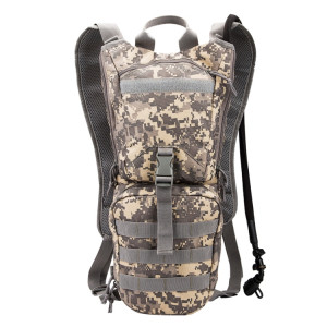 INDEPMAN DL-B005 Superlight Fashion Army Style Oxford Cloth Shell Fabric Backpack Shoulders Bag with 3L Outdoors Randonnée Camping Travel Water Bag, Size: 42 x 25 x 23 cm SI407D339-20