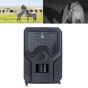 PR-200B Objectif grand angle 120 degrés IP56 étanche 12MP 1080P HD caméra de piste de chasse infrarouge, carte de soutien TF, distance PIR: 10-15m (noir) SH837B1983-20