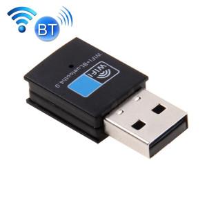 2 en 1 Bluetooth 4.0 + 150Mbps 2.4GHz USB WiFi Adaptateur sans fil S20053704-20