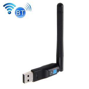 2 en 1 Bluetooth 4.0 + 150 Mbps 2.4GHz USB sans fil WiFi adaptateur avec antenne externe 2D1 S200541366-20