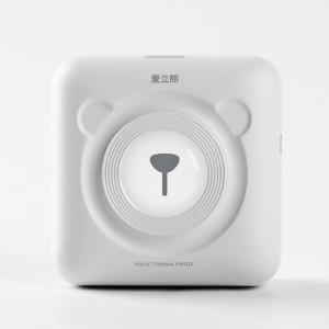Peripage A6 Imprimante Bluetooth thermique de poche sans encre portable (Blanc) SH315W1251-20
