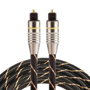 Câble audio Toslink mâle à câble optique numérique mâle de 1,5 m OD6.0mm plaqué or SH03841555-20
