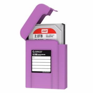 ORICO PHI-35 3.5 pouces SATA HDD Case Disque dur Disque dur Protéger la boîte de couverture (Violet) SO539P917-20