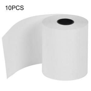 5 papier thermique d'épaisseur de PCS 57 * 50mm 0.06-0.08mm SH060550-20