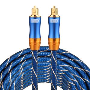 EMK LSYJ-A Câble audio numérique Toslink mâle / mâle à tête en métal plaqué or OD6.0mm de 8 m SH0746484-20