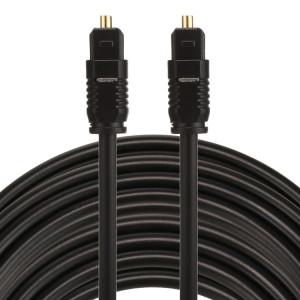 EMK 15m OD4.0mm Toslink mâle vers mâle câble audio numérique optique SH0760815-20