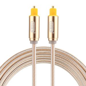 EMK Câble audio numérique Toslink mâle mâle audio optique (or) SH782J789-20