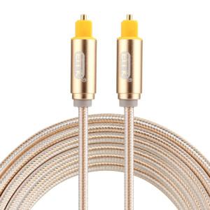 EMK Câble audio numérique Toslink mâle mâle audio optique (or) SH783J751-20