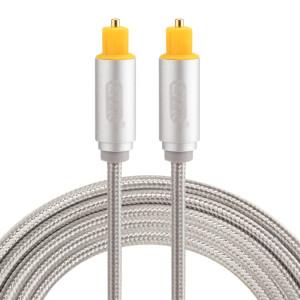 EMK Câble audio numérique Toslink mâle mâle audio numérique (argent) SH783S445-20