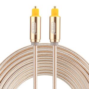 EMK Câble audio numérique Toslink mâle mâle audio numérique (or) SH784J1906-20