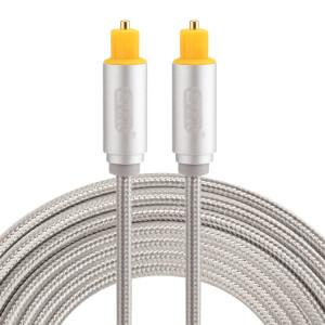 EMK Câble audio numérique Toslink mâle mâle audio numérique (argent) SH784S1095-20