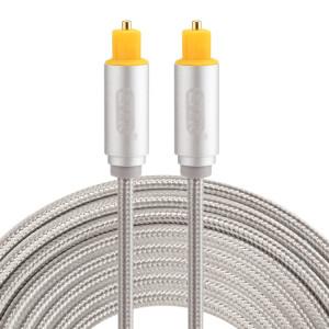 EMK Câble audio numérique Toslink mâle mâle audio numérique (argent) SH785S833-20