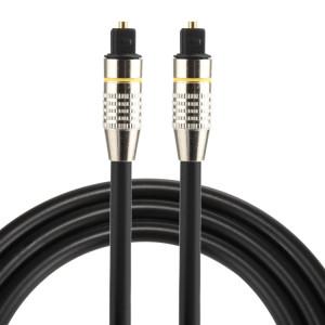 Câble audio numérique Toslink mâle à mâle mâle de 1 m OD6.0mm nickelé SH07921998-20