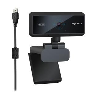 HXSJ S3 500W 1080P Caméra de mise au point automatique à 180 degrés HD réglable avec microphone (noir) SH861B1149-20