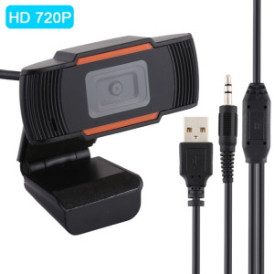 HD 720P Caméra d'ordinateur rotative USB Webcam PC Camera pour Skype / Android TV SH09531222-20