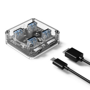 ORICO MH4U-30 USB 3.0 bureau transparent avec câble micro USB 30cm SO12231515-20