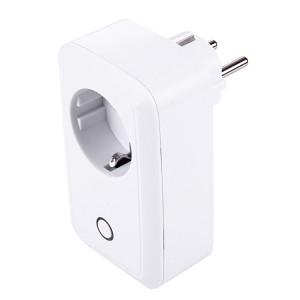 Prise de courant intelligente Smart WiFi avec port USB, Android 3.0+ et iOS 6.1+ pris en charge, télécommande, interrupteur de synchronisation, protection de charge, prise EU SP18971442-20
