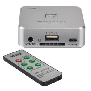 EZCAP241 Audio Adaptateur Enregistreur Carte, 3.5mm RCA R / L Analogique Audio MP3 Convertisseur Digitizer (Argent) SE745S305-20
