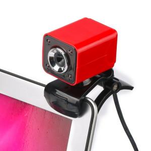 A862 caméra de fil USB rotative 12MP HD WebCam 360 degrés avec microphone et 4 lumières LED pour ordinateur de bureau Ordinateur portable PC Skype, longueur de câble: 1,4 m SH455R73-20