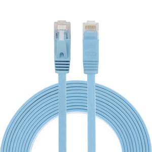3m CAT6 câble plat Ethernet réseau LAN ultra-plat, cordon RJ45 (bleu) S3464L276-20