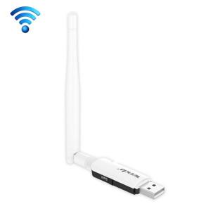 Tenda U1 Adaptateur sans fil USB sans fil 300Mbps avec récepteur externe Carte réseau avec antenne (blanche) ST589W1137-20