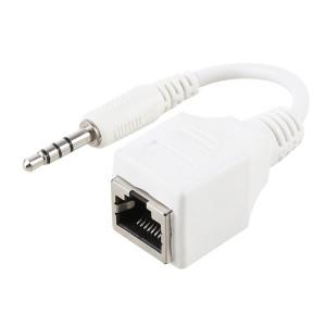 Adaptateur réseau Ethernet LAN Ethernet, prise RJ45 CAT5, 4 pôles, 4 pôles, longueur totale: environ 13 cm SH775255-20