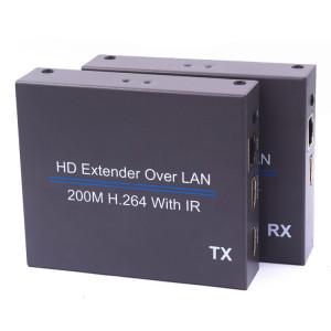 NK-E200IR Prolongateur avec IR infrarouge 200 m sur réseau HDMI H.264 HD (émetteur + récepteur) SH78591922-20