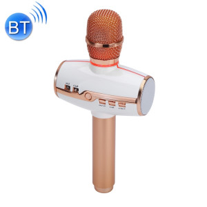 H9 haute qualité sonore KTV Karaoke enregistrement coloré RVB néon lumières Bluetooth sans fil microphone à condensateur, pour ordinateur portable, PC, haut-parleur, casque, iPad, iPhone, Galaxy, Huawei, Xiaomi, LG, HTC SH26RG190-20