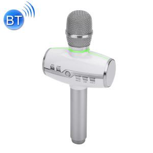 H9 haute qualité sonore KTV Karaoke enregistrement coloré RVB néon lumières Bluetooth sans fil Microphone à condensateur, pour ordinateur portable, PC, haut-parleur, casque, iPad, iPhone, Galaxy, Huawei, Xiaomi, LG, HTC SH026S1222-20