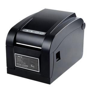 Xprinter XP-350B Imprimante de codes-barres à étalonnage automatique thermique pour port USB SX8353418-20