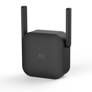 D'origine Xiaomi WiFi Amplificateur Pro 300 Mbps WiFi Routeur Intelligent Routeur avec 2x2 Antennes Externes (Noir) SO335B633-20