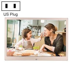 HSD1303 Cadre photo numérique haute résolution à affichage LED 1280x800 de 13,3 pouces avec support et télécommande, prise en charge des cartes SD / MMC / MS / port USB SH65131463-20