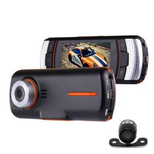 A1 Voiture DVR Caméra 2.7 pouces LCD Full HD 1080P 2 Caméras 170 Degrés Grand Angle Affichage, Soutien Vision Nocturne / Détection de Mouvement / Carte TF / HDMI / G-Capteur SH00691984-20