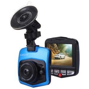 VGA 480P voiture caméscope DVR enregistreur de conduite numérique caméra vidéo enregistreur vocal avec 2.4 pouces écran LCD, soutien 32GB Micro carte TF et fonction de vision nocturne infrarouge (noir + bleu) SH0435278-20