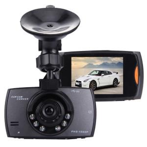 Voiture DVR Caméra 2.7 pouces LCD 480 P 1.3MP Caméra 170 Degrés Grand Angle Affichage, Soutien Vision Nocturne / Détection de Mouvement / TF Carte / G-Capteur SH04361960-20