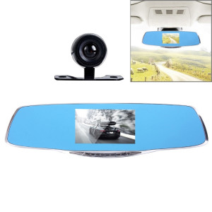 G835 HD 1080 P 4,3 pouces Écran Rétroviseur Véhicule DVR, Generalplus 2248, 2 Caméras 170 Degrés Grand Angle Affichage, Soutenir HDR Enregistrement / Fonction de Détection de Mouvement SH06601714-20