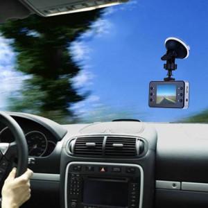Portable HD 720P voiture caméscope DVR Driving Recorder Enregistreur vocal numérique caméra vidéo, 2,4 pouces TFT écran, soutien de détection de mouvement et fonction de verrouillage de fichier, 32 Go carte TF SH240047-20