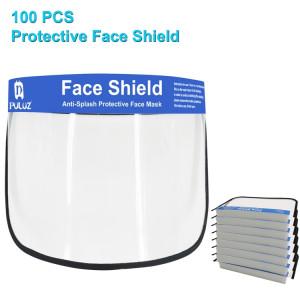Face Shield Protection pour visage anti-salive avec bande élastique 100 pièces SHT46585-20