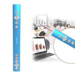 VIBOTON PP910 2.4GHz Présentation Multimédia Télécommande PowerPoint Clicker Clavier Flip avec récepteur USB, Distance de Contrôle: 10m (Bleu) SV824L683-20