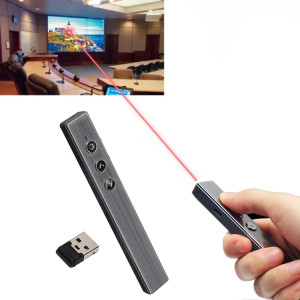 PR-20 Wireless Presenter PowerPoint PPT Clicker Présentation Stylo de contrôle à distance Pointeur laser Flip Pen avec fonction Air Mouse SH3611237-20