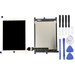 iPartsAcheter pour iPad Pro 9.7 pouces / A1673 / A1674 / A1675 LCD écran + écran tactile Digitizer Assemblée (Blanc) SI456W1782-20