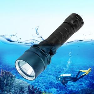 Lumière de torche de lampe-torche de plongée de profondeur de l'alliage d'aluminium 50m de PULUZ 1000LM, SPU2631069-20