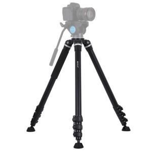 Support de trépied en métal à 4 sections pliantes PULUZ pour appareils photo reflex numériques / reflex, hauteur ajustable: 97-180cm SP3029393-20