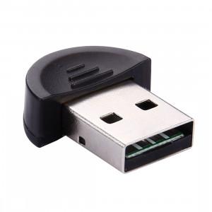 Dongle USB Bluetooth sans fil (adaptateur) avec puce CSR, Plug & Play (noir) SH-10352-20